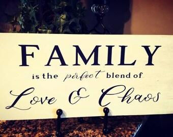 Family Love sign