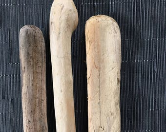 3 branches of driftwood - small sizes - branches wood, seawood, driftwood