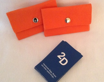 Business Card Case- Gift Card Holder, Mini Wallet, 2Delany Designs