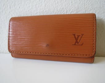 LOUIS VUITTON Epi Leather Key Case Holder Multicles 4  Vintage from 90's