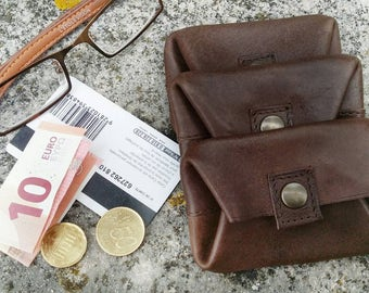 Flat purse for man with back pocket for credit very functional, ideal for Pocket card.