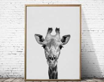 Giraffe print, Giraffe art, Giraffe art print, Giraffe nursery, Giraffe nursery decor, Giraffe nursery art, Giraffe decor, Giraffe picture