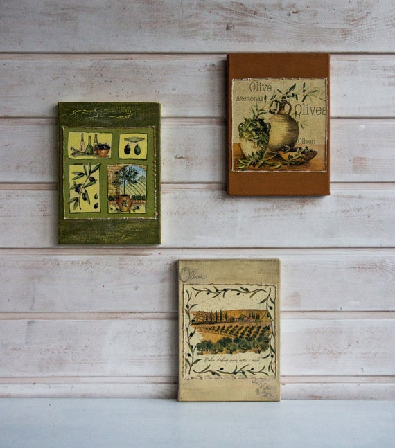 Home Decor Hostess Gifts: Vintage Style Signs Hostess Gift Country French Decor By