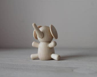 Elephant / Montessori baby toys/ educational toys