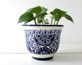 Painted Clay Pot Etsy