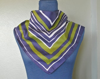 1970s Retro Square Scarf