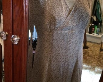 100% Silk Liz Claiborne size 10 Dress