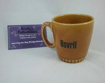 Lord Nelson Pottery cup, mug. Bovril mug. Vintage brown cup. Vintage bovril. Brown Nelson pottery mug.