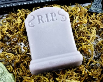 Rest In Pieces Tombstone Soap!