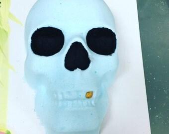 Mega huge skull bath bomb gift for her, bridesmaid gift, teacher gift, fun gift for kids