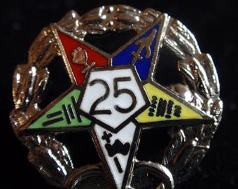 American Legion 25 year Pin