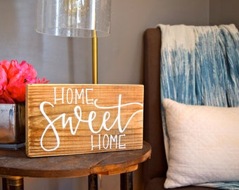 Home Sweet Home Sign, Rustic Wood Sign, Rustic Decor, Home Sweet Home, Farmhouse Decor, Home Decor
