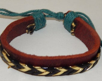 Adjustable Leather Bracelet