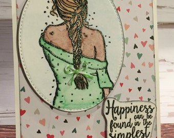 Greeting Card - Happiness (PAT-0022)