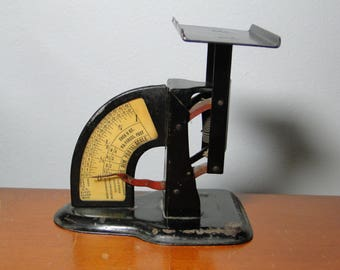 Antique Postal Scale - Steampunk Postal Scale - Very Old - Neat Scale!