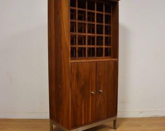 Room and Board Modern Walnut Wine Rack