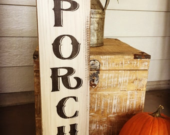 Welcome To Our Porch Y'all, Rustic Wood Sign, Welcome Sign, Southern Welcome Sign, Porch Welcome Sign, Porch Wall Decor, Farmhouse Style
