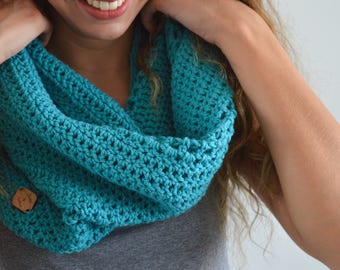 MADE TO ORDER | The Quinn Cowl | Crochet Cowl | Crochet Scarf