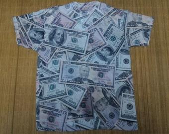 United States Dollars Fullprint Tshirt