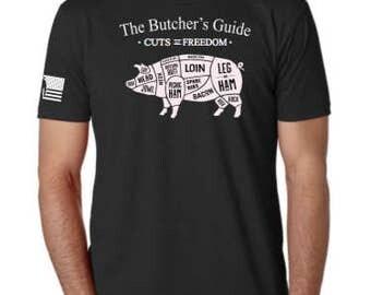 Freedom Pig men's Tee