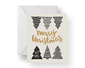 Christmas Cards, Holiday Cards, Christmas Note Cards, Merry Christmas, Christmas Trees, Christmas stationery
