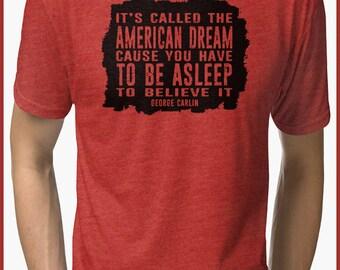Geroge Carlin  Tri-blend T-Shirt