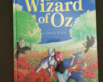 Wizard of Oz illustrated Book