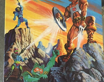 Masters of the  universe vintage 1983 puzzle