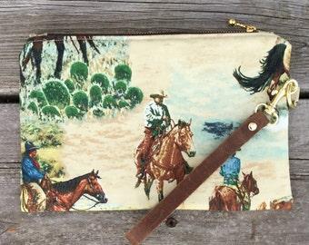 Cowboy wristlet