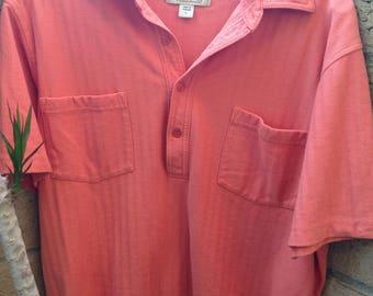 1980s/ Haband/ men's polo shirt/ 80's clothing /Men's polo/mens clothing/mens vintage