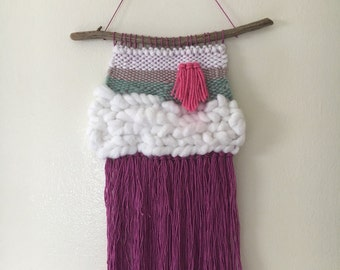 Small handwoven wall hanging
