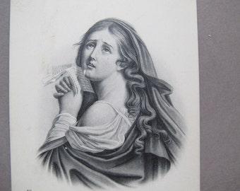Héloïse postcard / Heloise French Etching postcard / ND Phot