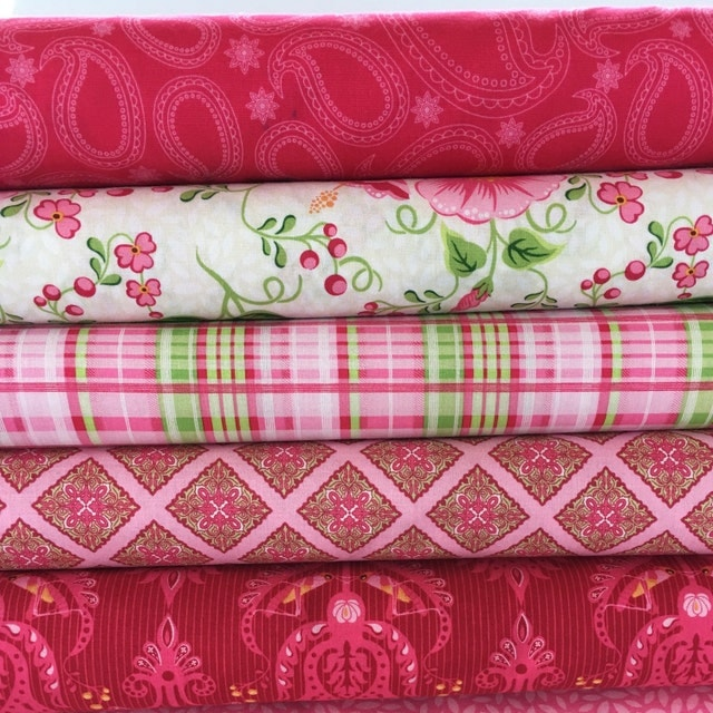 Colorful Fabrics Patterns And Notions Shipped By
