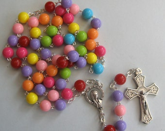 Childrens / Colourful Rosary