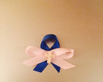 martyrika, martirika, girl, boy, twins, pink, blue, gender neutral cross, ribbon, baptism, orthodox