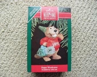 Hallmark Ornament - Happy Woodcutter