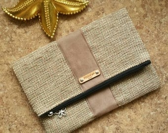 FREE shipping! (U.S. only!) POUCH'eM HAWAII Fold-Over Clutch