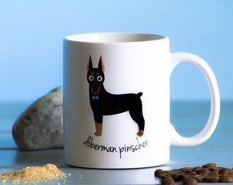 Doberman Pinscher Mug (boy)