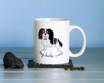 King Charles Spaniel Mug (boy)