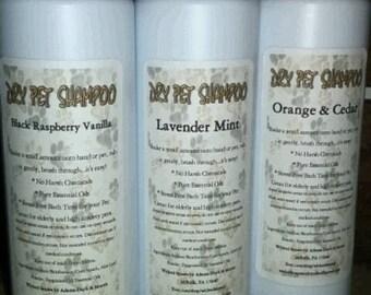 Dry Pet Shampoo 8 oz.