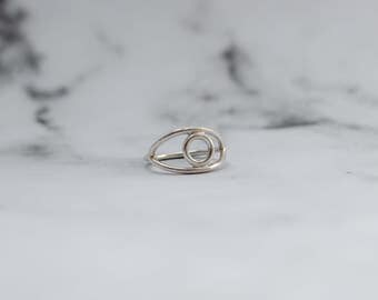 Social Impact - Sterling Silver All-Seeing Eye Ring