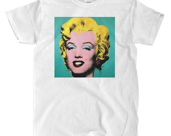 Marilyn Monroe by Andy Warhol - White T-shirt
