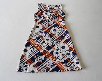 60's Gro Brand Cotton Flower Dress
