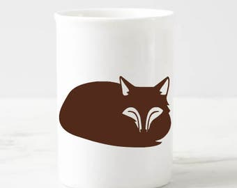 Fox Decal, Fox Mug Decal, Fox Tumbler Decal, Fox Car Decal, Fox Laptop Decal, Fox Glass Decal, Custom Fox Decal, Fox Sticker Fox Vinyl Decal