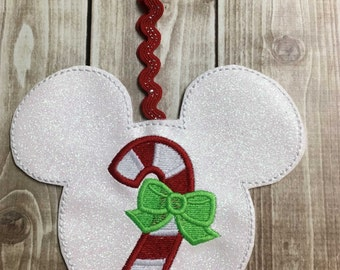 Felty CandyCane Ornament Design
