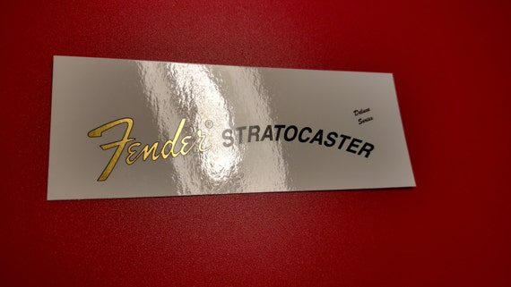 Fender Stratocaster Deluxe 70's in Gold Metallic - Includes Two custom waterslide decals