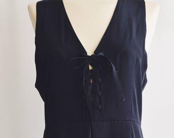 Dress Blue Navy neck cords.