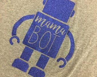 Mama Bot Raglan Shirt