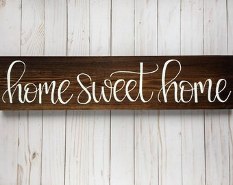 Wall Signs For Home rustic wood signs | etsy
