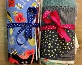 Novelty Scrap Pack, 50 Medium Piece Fabric Scrap Pack Full of Novelty Prints, Weave & Woven